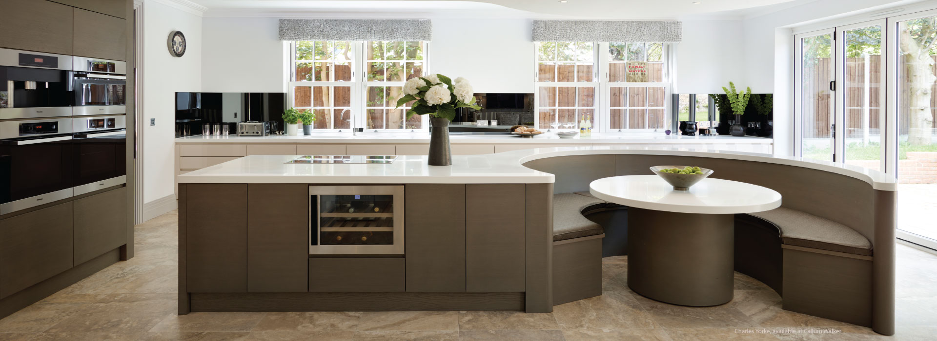 Charles Yorke Kitchen, available Callum Walker | Interior Design Scotland