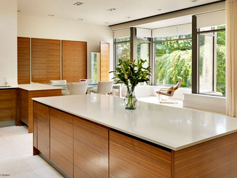 Callum Walker Interiors modern kitchen islan