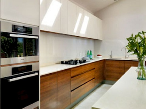 Callum Walker Interiors modern white kitchen