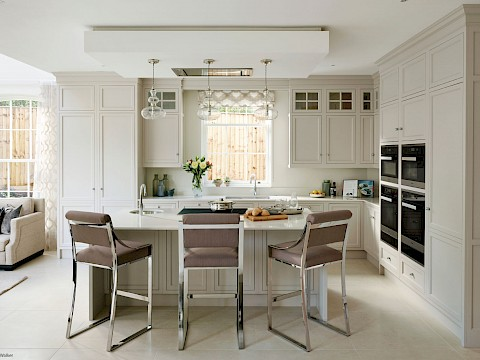 Callum Walker Interiors Classic white kitchen