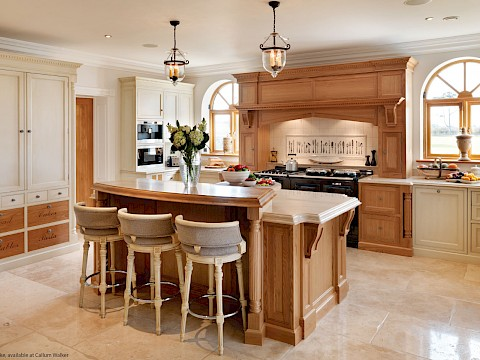 Callum Walker Interiors traditional oak kitchen