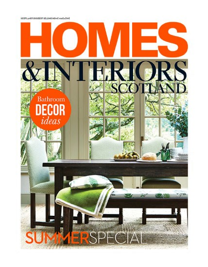 Homes And Interiors Scotland May U0026 June Issue