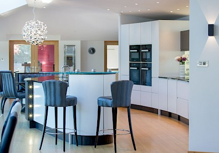 Bespoke Monochrome Kitchen Design Perth | Fife | Scotland