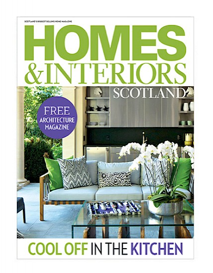 Callum Walker featured in Homes and Interiors Scotland July August issue
