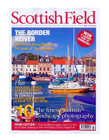 Callum Walker featured in Scottish Field May Issue