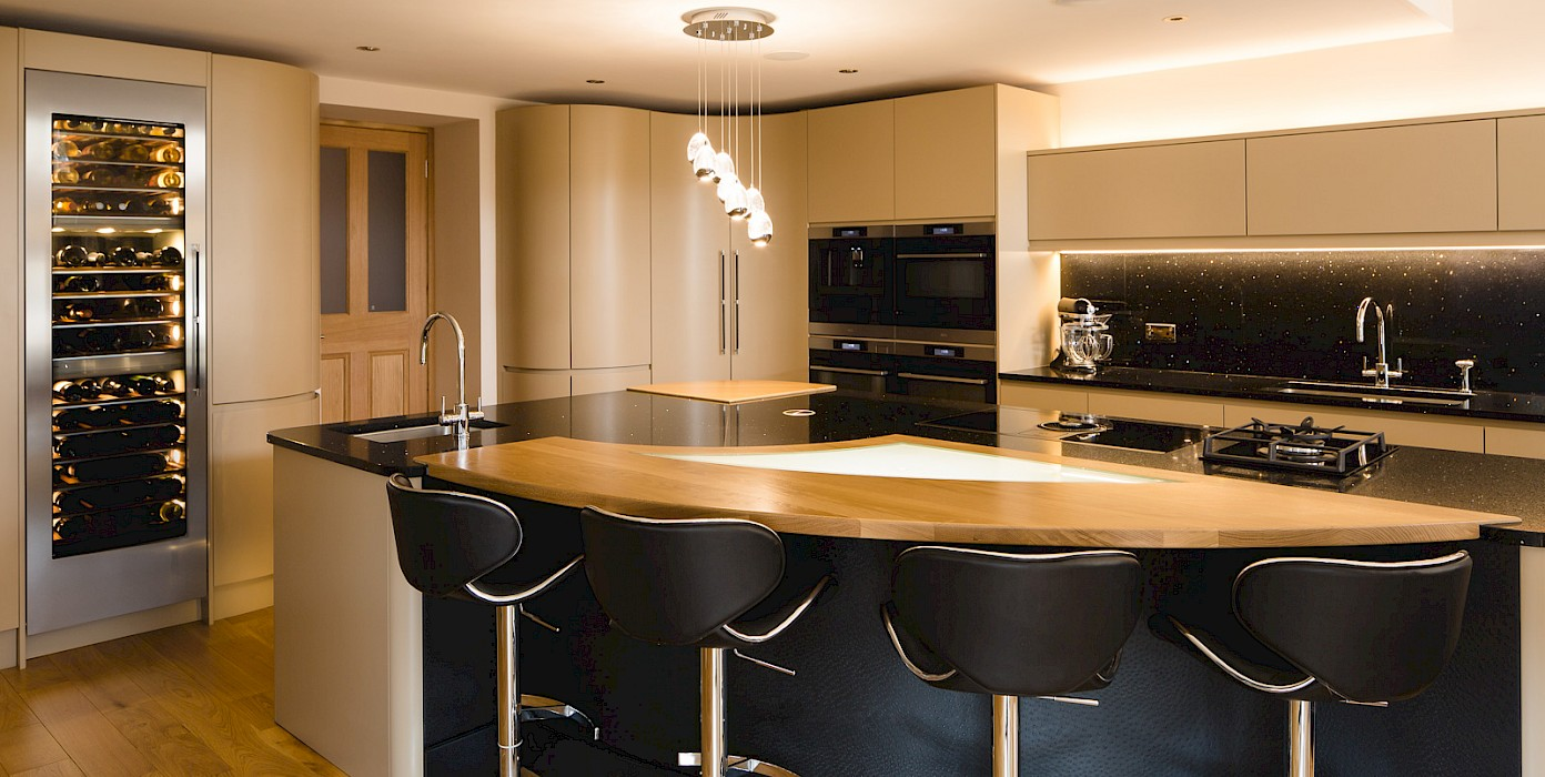 Bespoke Curved Kitchen Design Perth | Fife | Scotland