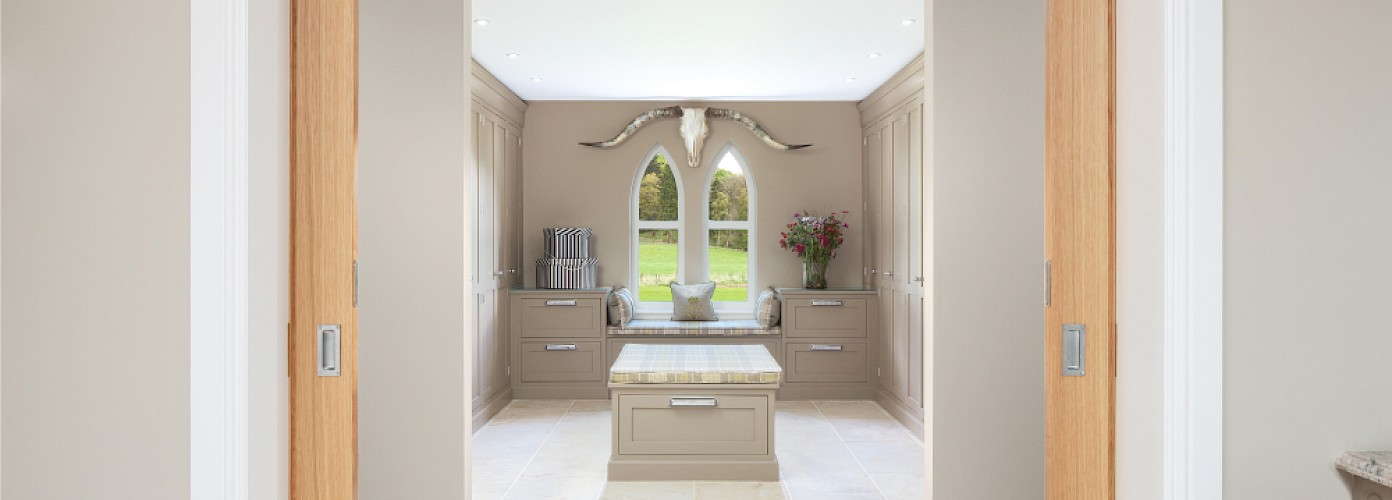 Scottish home interior design. Dresser Room Perthshire | Fife | Scotland