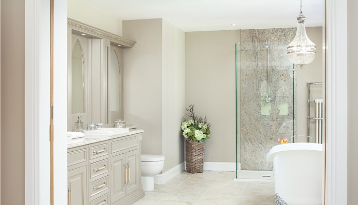 Scottish home interior design. Bathroom Perthshire | Fife | Scotland
